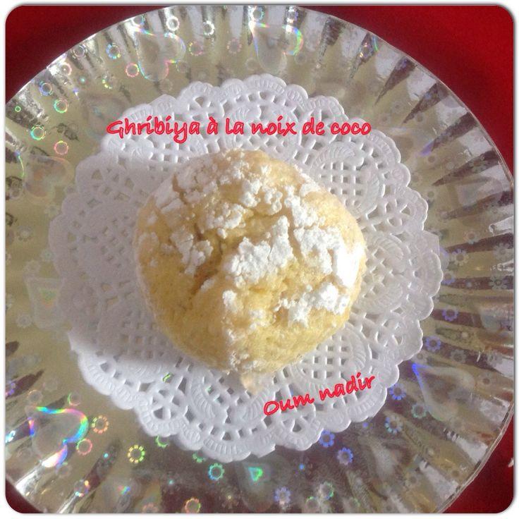 Ghribiya à la noix de coco