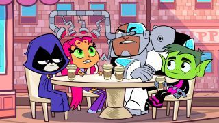 Watch Teen Titans Go! Season 2 Episode 37 - Two Bumble Bees and a Wasp Online Now