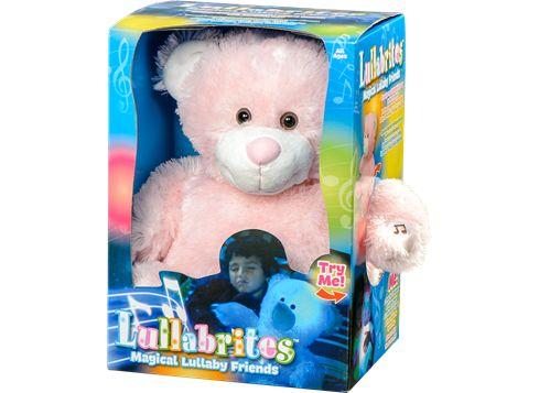 Maise: LULLABRITES pink bjørn, eller anden farve