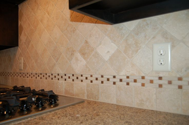 love this backsplash lt ivory tumbled marble mcbee