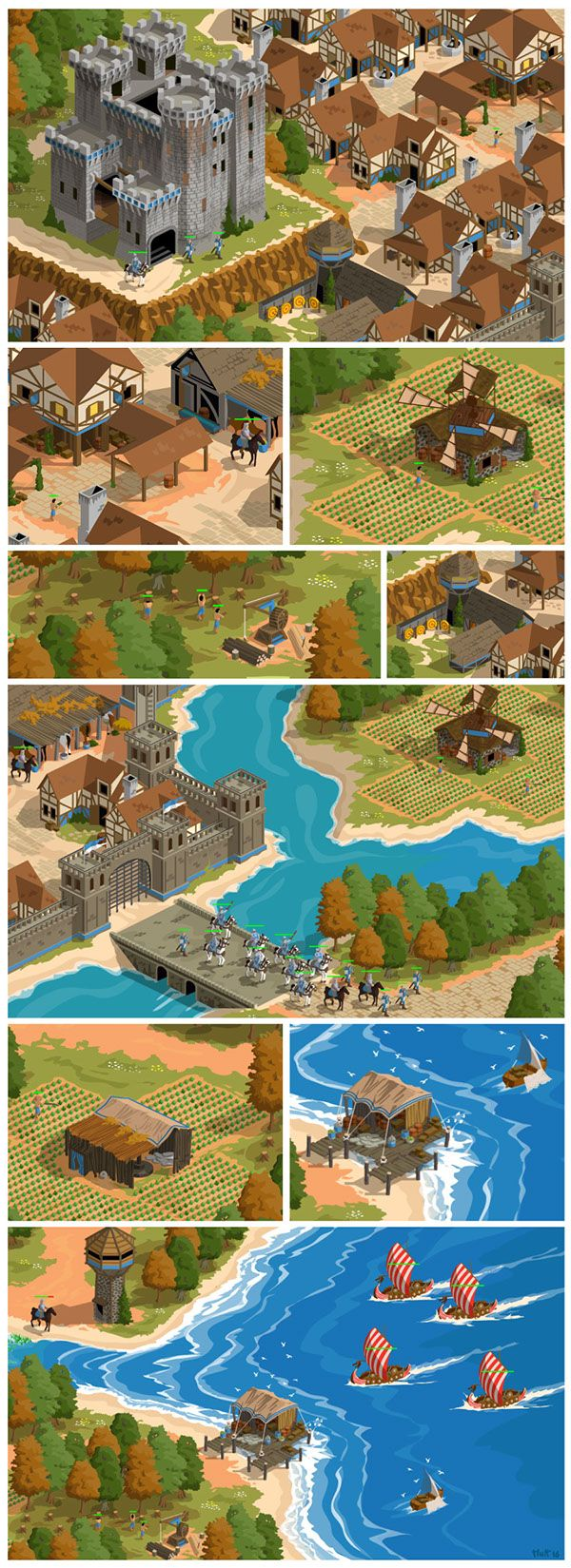 A fanart about Age of Empires 2 : Age of Kings.