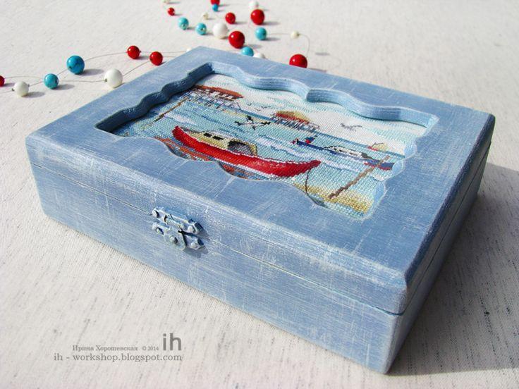 "(1) Gallery.ru / Creation Point de croix n° 3/2010 ""Морской пейзаж"" - Моя прикладная вышивка - Irina-ih"