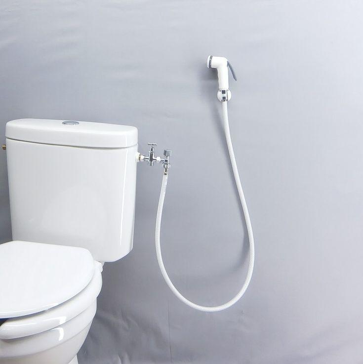 Les 11 meilleures images du tableau douchette wc sur pinterest salle de bains id e salle de - Wc avec douchette ...