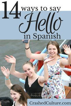 You could walk around America just saying 'hello' to greet people, but there are so many different ways to say hello - how's it hangin'? Whats crack-a-lackin?. Same goes for #Spanish. There are 14 different ways to say hello in Spanish, so why not use something other than 'hola' and spice it up a little bit? via @crashedculture