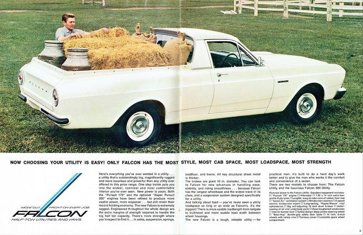 1966 Ford XR Falcon Utility