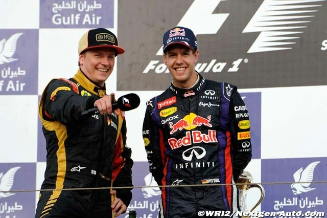 Bahrain gp sunday 21-4-2013 - always wonder what is gonna happen when these two are on the podium together #cheekychappies xx