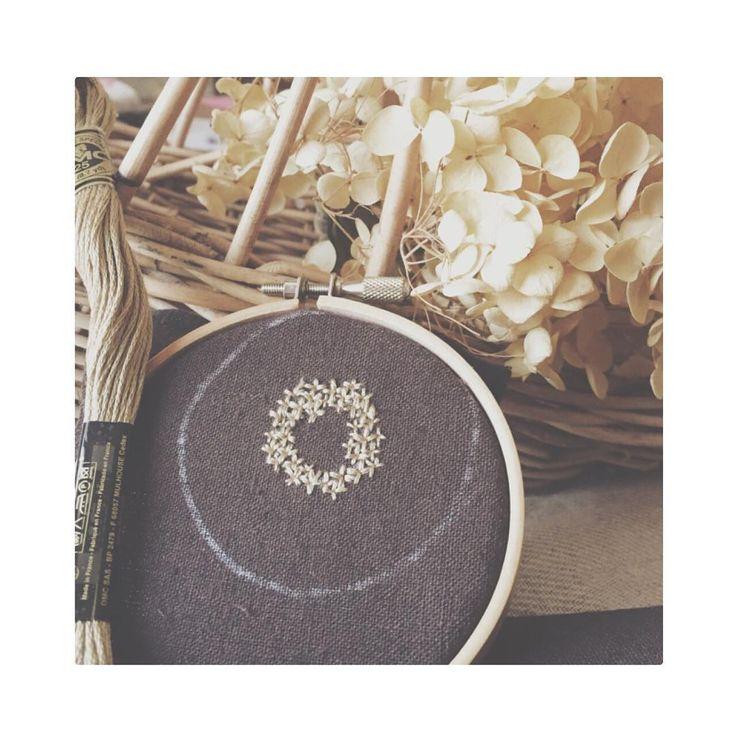 den-de-Lion(ダン・ド・リオン) という名前で のんびり ちくちく 刺繍しています…** * * ↟↟イベント↟↟ ・5/26(木)〜28(土) :花摘みお庭パーティー:(pâtisserie bouquetさんにて)