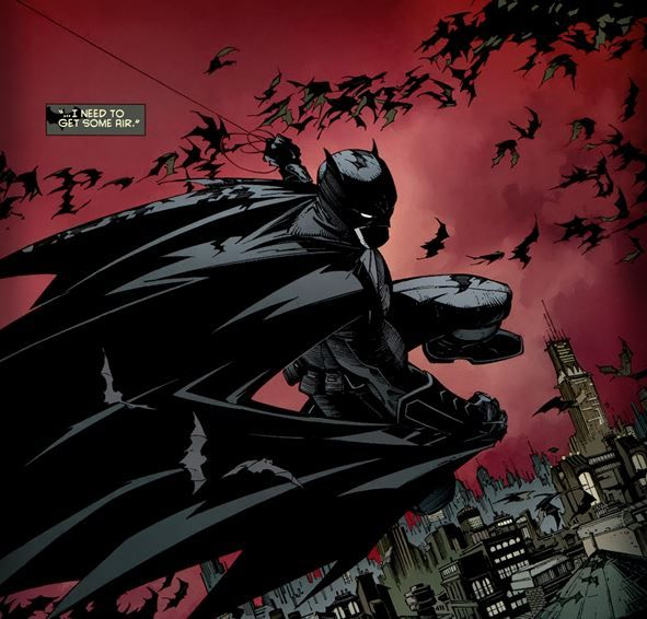 Batman #1 of The New 52 takes off at a point in time in the life of The Dark Knight's Crusade. He is at his best, in peak physical and mental condition.