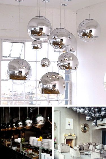 tom lighting. tom dixon mirror ball pendant lamp modern lighting medium 16 inch nova68 design