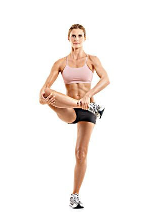 #MoveOfTheDay: Walking Leg Cradle, works #glutes, #hips ...