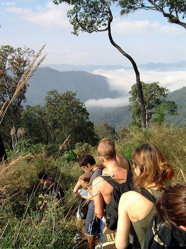 Trekking in Chang Mai, Thailand