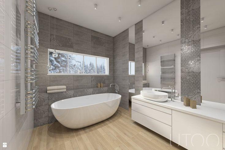 Łazienka styl Nowoczesny - zdjęcie od UTOO- pracownia architektury wnętrz i…