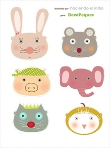 Kids wall art, prints and murals-Cuadros infantiles, láminas y tarjetas para fiestas — gratis / freebies