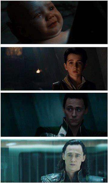 Loki growing up