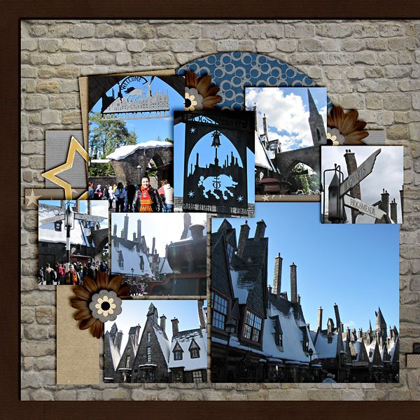 Wizarding World of Harry Potter - Page 7 - MouseScrappers.com