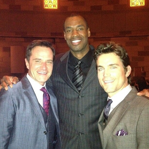 Tim DeKay, Matt Bomer and Jason Collins all at the GLSEN 20.05.2013