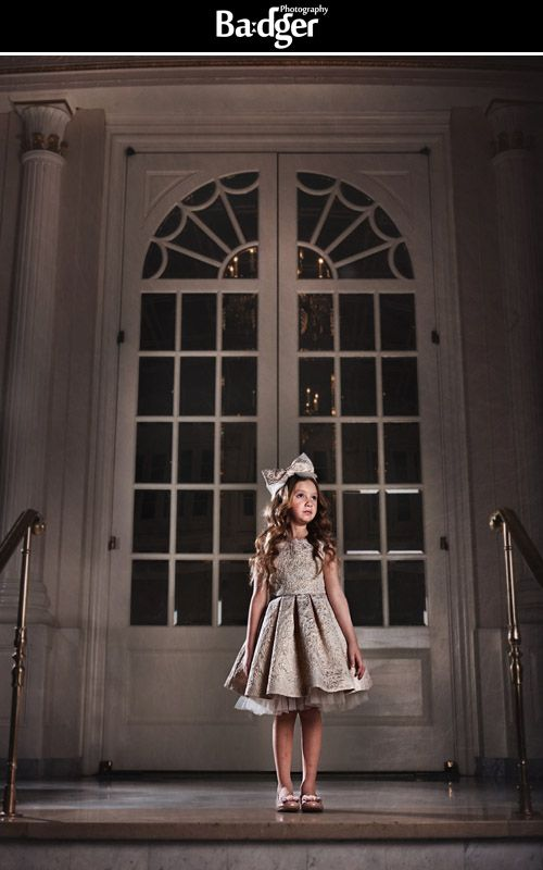 Kids' clothing fashion shoot at the Ritz-Carlton, Montreal for Juliette & Prince. We love the dark feel and fine art twist to this fashion shoot.