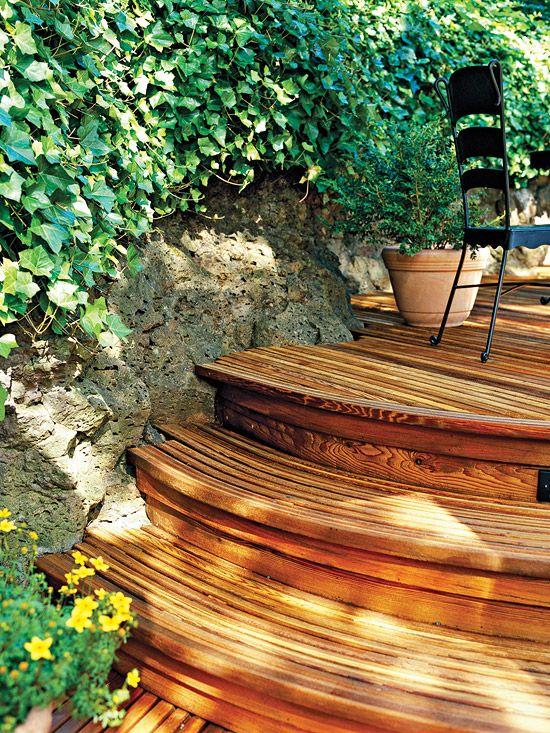Die 16 Besten Bilder Zu Decks Auf Pinterest | Washington, Verandas ... Beispiel Mehrstufige Holzterrasse