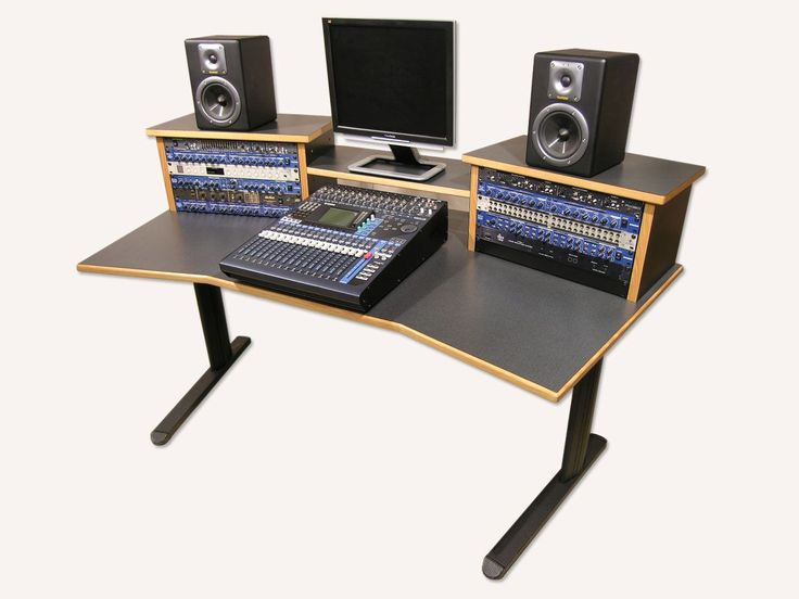 Simple Wood Gray Studio Desk Design With Elegant Black Aluminum Legs For  Interior Furniture Ideas Awesome Design