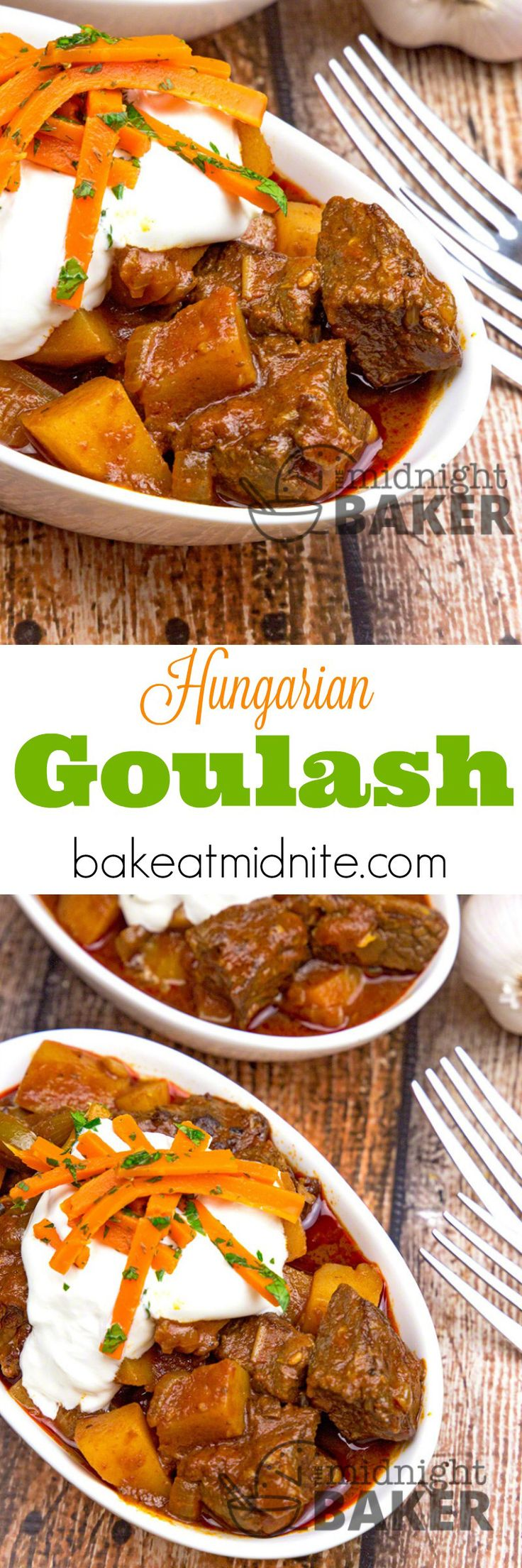 Authentic Hungarian Goulash is warm, comforting and easy to make! Surprise…