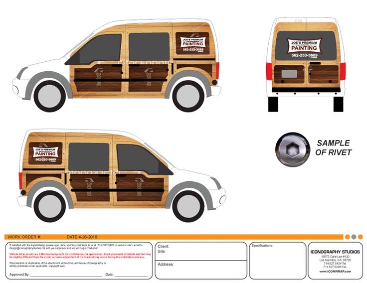Custom Vehicle Wrap Design By Iconography