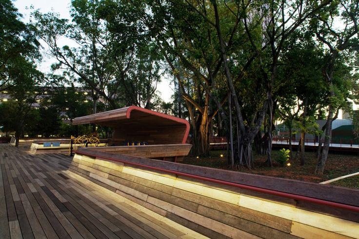 Arquitectura y Paisaje: Plaza Victor Civita, un museo abierto de Sustentabilidad por Levisky Arquitetos + Anna Dietzsch