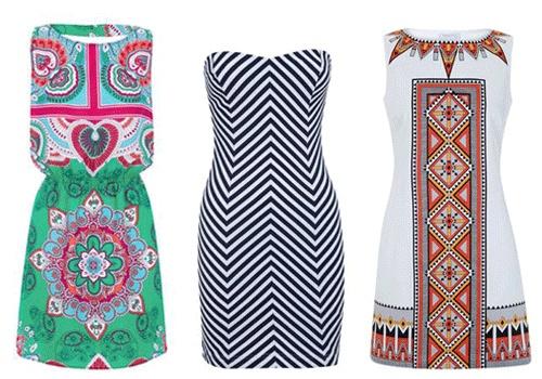 CUT OUT. vestidos de @SUITEBLANCO que dejan al descubierto la espalda como podéis ver en la imagen. De izquierda a derecha, 29.99 €, 25.99 € y 32.99 €