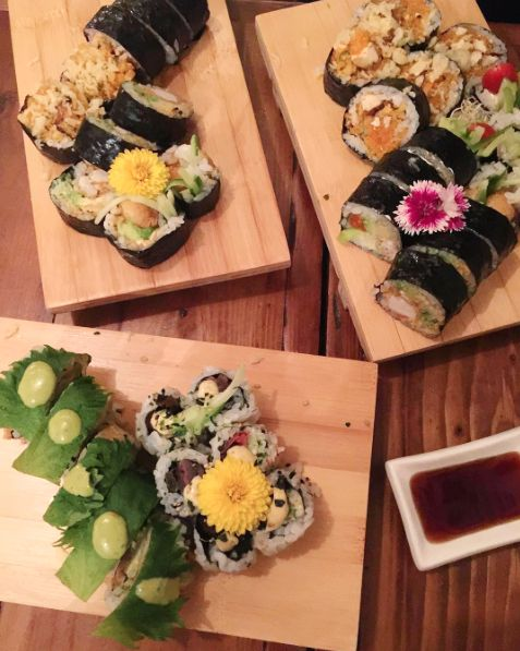 Vegan Sushi in Montreal, Sushi Momo // at hapiestwhenexploring . com (Photo by Laura Verbich)