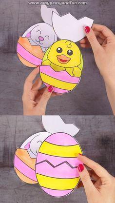 Überraschen Sie Easter Eggs Craft – Ostern