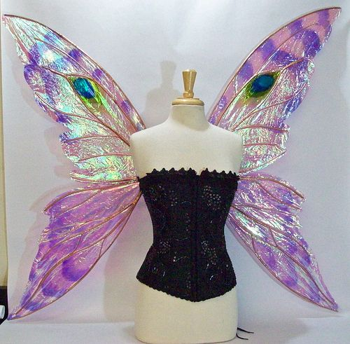 Suzanne's Custom Wings front | Flickr - Photo Sharing!