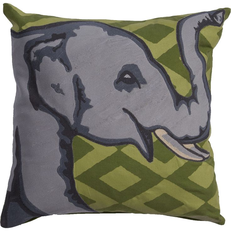 National Geographic Ng-17 Piquant Green/Lettuce Green Pillow