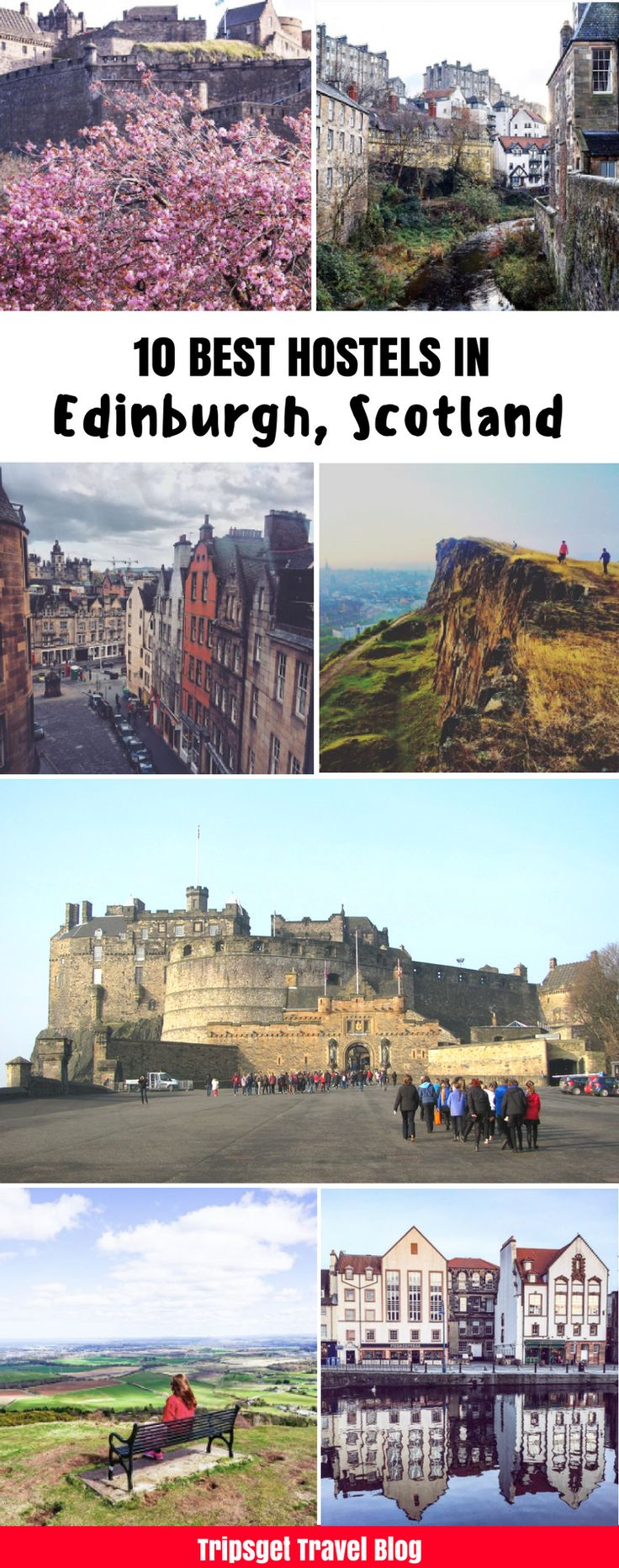 10 best hostels in Edinburgh, Scotland | Edinburgh, Scotland | Accomodation in Scotland. Edinburgh Festivals. Where to stay in Edinburgh