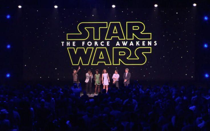 J.J. Abrams apresenta novo elenco de Star Wars