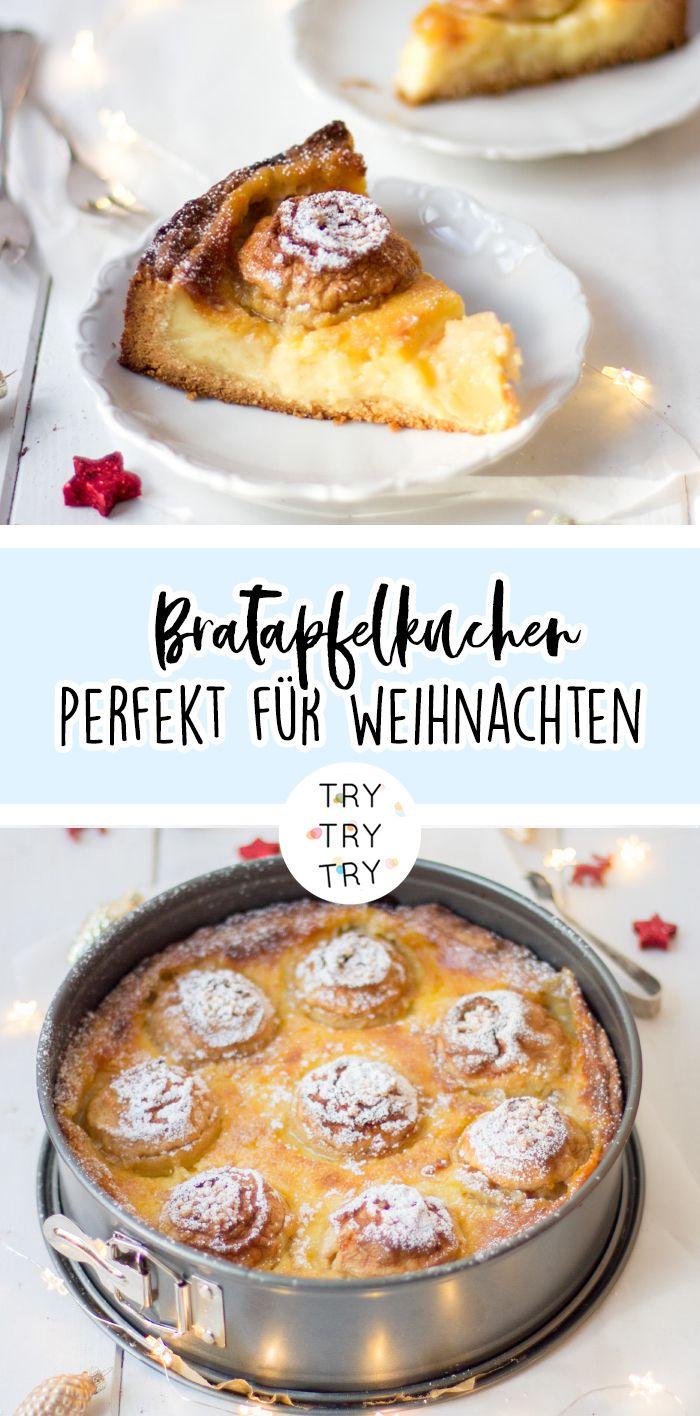 Bratapfelkuchen – Alles lecker!