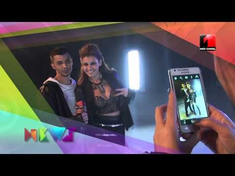 Making of Vescan & Alina Eremia - In dreapta ta @ Music Channel News
