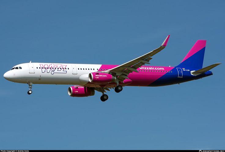 HA-LXG Wizz Air Airbus A321-231(WL)