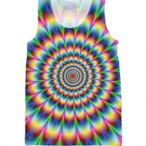 RAGEON MEN'S INTO THE #RAINBOW TANK TOP #PSYCHEDELIC #PSY #PSYTRANCE