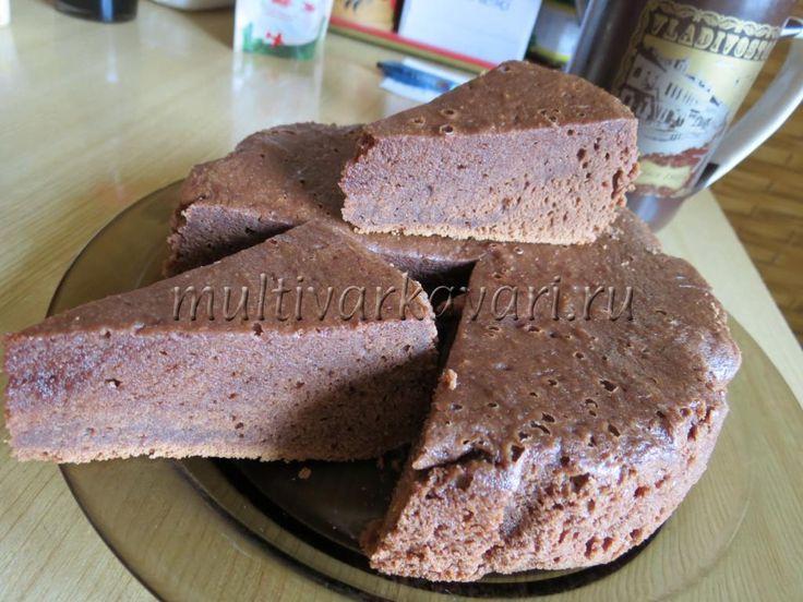"""Пирожные """"Шоколадные брауни"""" в мультиварке"""