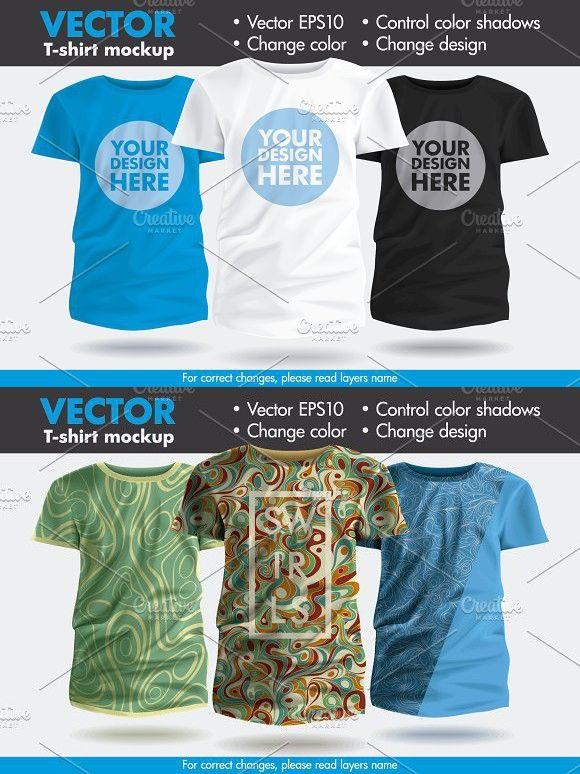 Download Vector T Shirt Shirt Mockup Shirt Template Shirts