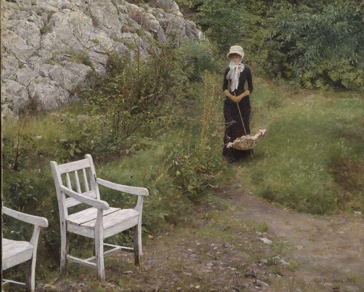 ERIK WERENSKIOLD, Yndlingspromenaden (På gamle tomter) (1881-82)