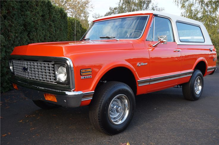 For sale at auction This beautifully restored K5 Blazer