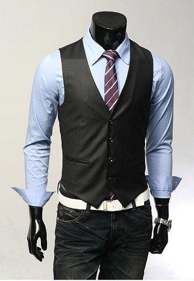 Men's style. Vest