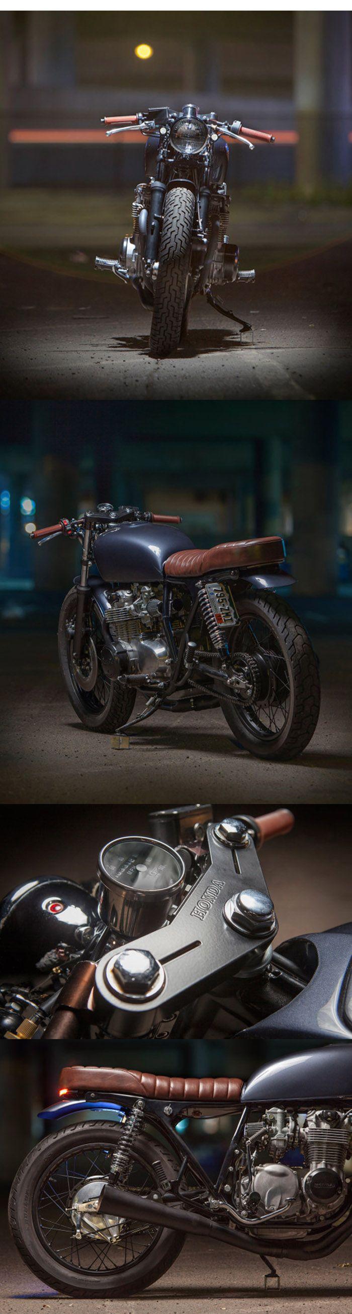Backyard build: Dave Lehl's Honda CB550     http://motofanatics.blogspot.co.uk/2014/11/backyard-build-dave-lehls-honda-cb550.html