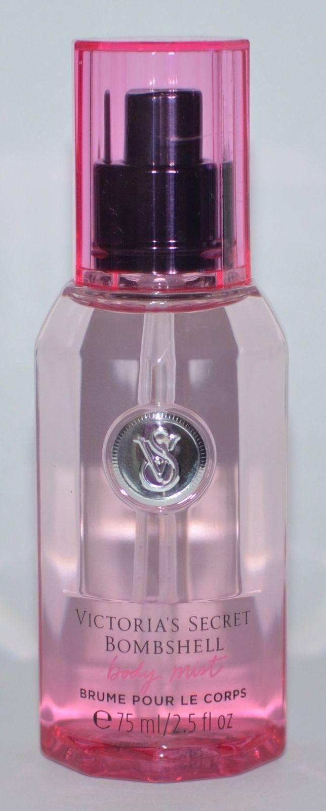 287a19599aa Victoria s Secret Bombshell Body Mist Fragrance Spray Travel Size Perfume  2.5 Oz