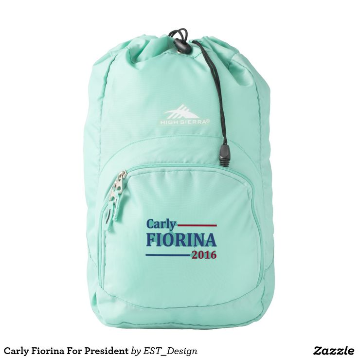 Carly Fiorina For President Backpack