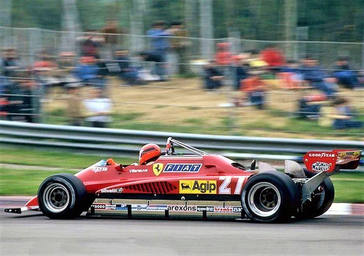 Gilles Villeneuve Ferrari Imola 1982