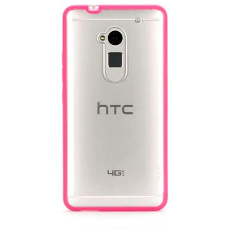 Griffin HTC One Max Reveal Case - Pink / Clear