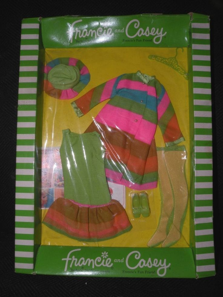 BARBIE FRANCIE AND CASEY MERRY GO-ROUNDERS 1230 OUTFIT NRFB