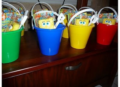 Spongebob favors.