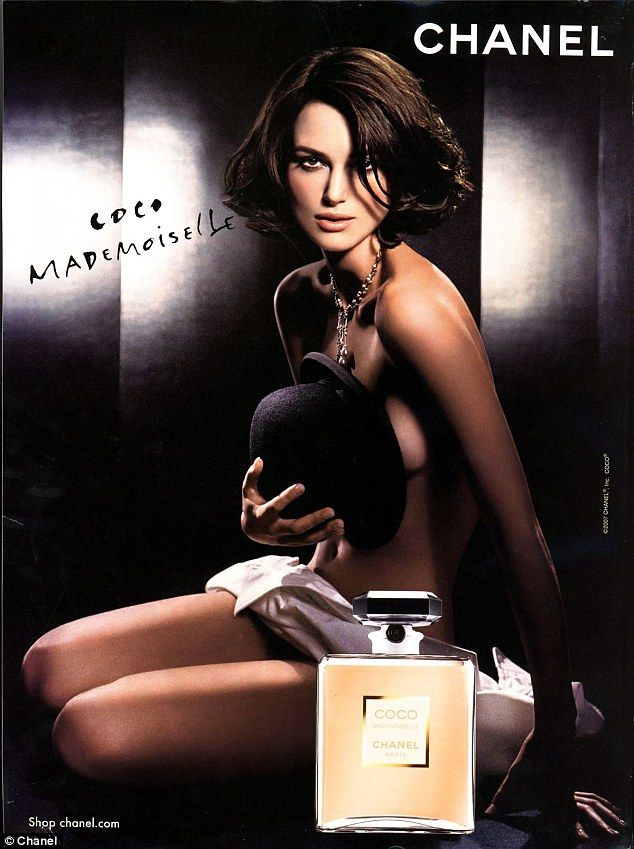 Keira Knightley advertising Coco Mademoiselle